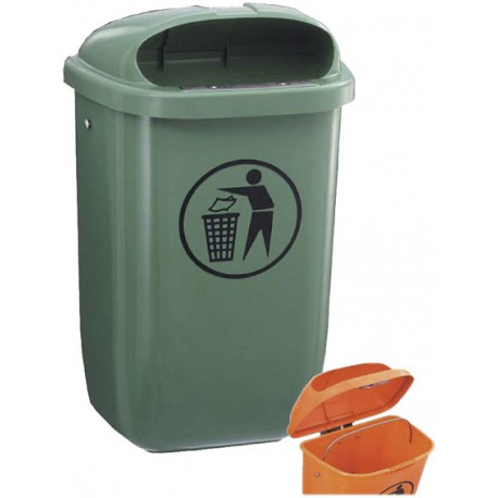 Kunststoffabfallbehälter