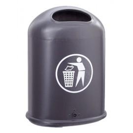 Abfallbehälter mit Bodenklappe
