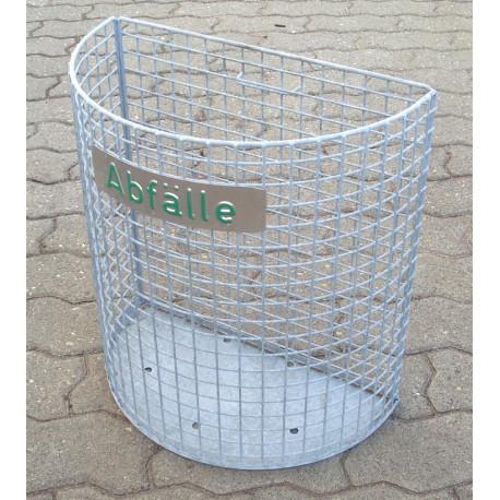 Drahtgitter-Abfallbehälter
