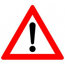 Verkehrszeichen-Nr.: 101 Gefahrenstelle