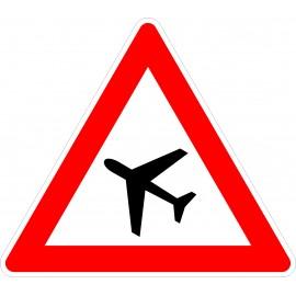 Verkehrszeichen-Nr.:101-10 Flugbetrieb-rechts