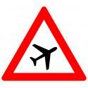 Verkehrszeichen-Nr.: 101-20 Flugbetrieb-links