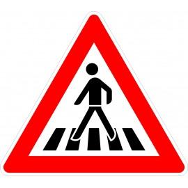 Verkehrszeichen-Nr.:101-11 Fußgänger-rechts