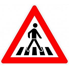 Verkehrszeichen-Nr.:101-21 Fußgänger-links