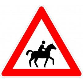 Verkehrszeichen-Nr.:101-23 Reiter-links