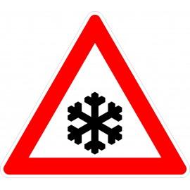 Verkehrszeichen-Nr.: 101-51 Schnee- oder Eisglätte