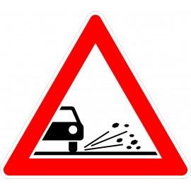 Verkehrszeichen-Nr.: 101-52 Splitt,Schotter