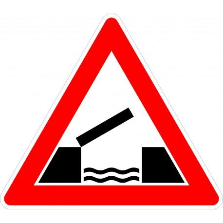 Verkehrszeichen-Nr.: 101-55 bewegliche Brücke