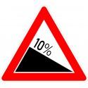 Verkehrszeichen-Nr.: 108-...* Gefälle