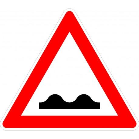 Verkehrszeichen-Nr.: 112 unebene Fahrbahn