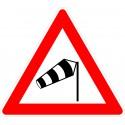 Verkehrszeichen-Nr.: 117-10 Seitenwind von rechts