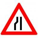 Verkehrszeichen-Nr.: 121-20 Einsetig verengte Fahrbahn