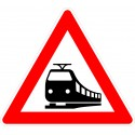 Verkehrszeichen-Nr.: 151 Bahnübergang