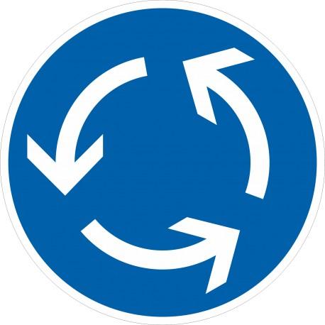 Verkehrszeichen-Nr.: 215 Kreisverkehr