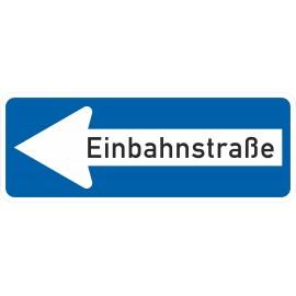 Verkehrszeichen-Nr.: 220-10 Einbahnstraße linksweisend