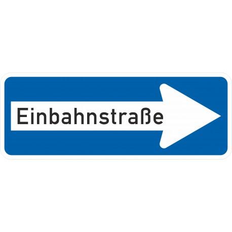 Verkehrszeichen-Nr.: 220-20 Einbahnstraße rechtsweisend