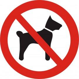 Schild Hunde verboten