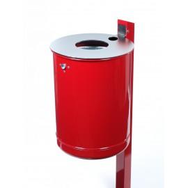 Abfallbehälter-Ascher